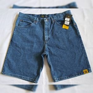 New Lee Men's Denim Jean Shorts Size 36